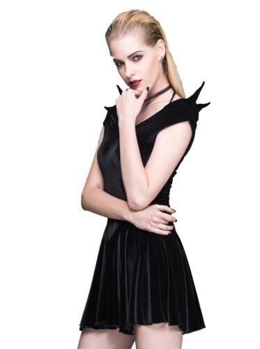 Batman Patineuse Cosplay jupe Gothique Rock Punk Mini Danse Velours Noir wAIaqa