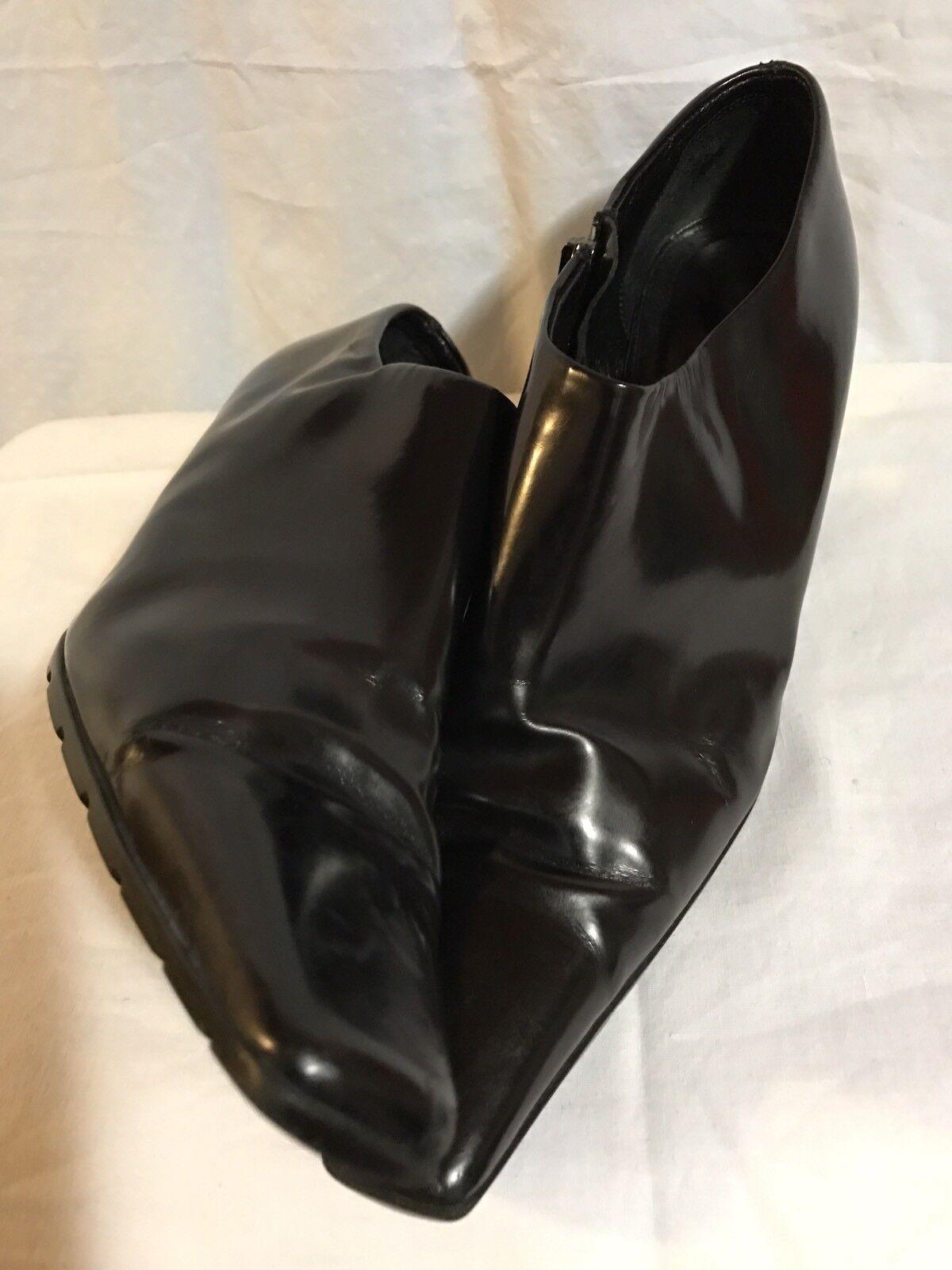 Prada Woman Woman Woman Stiefelies Größe 7 Made In  238b6d