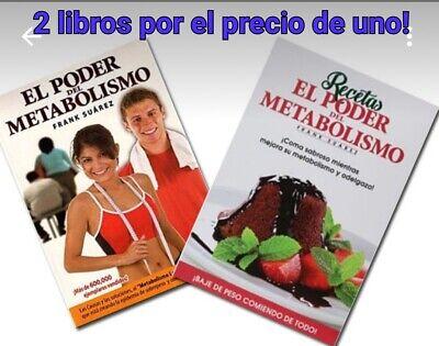 EL PODER DEL METABOLISMO +RECETAS!!!ENVIO POR EMAIL PDF EN
