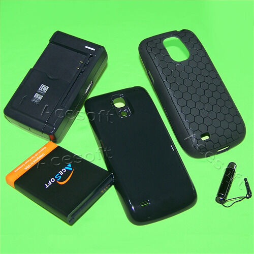 new product a9bd7 5c9e0 High Power 6300ma Extended Battery Charger Cover Case for Samsung Galaxy S4  Mini