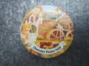 Dunster-Water-Mill-Pin-Badge-Button-Souvenir-Tourist-L1B