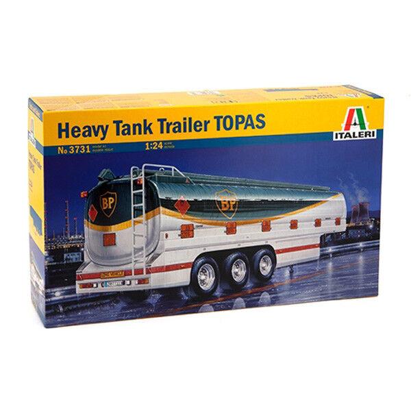 Italeri   24 camión cisterna de comautobústible pesado  topas
