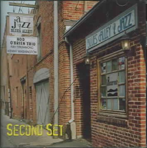 HOD O'BRIEN - LIVE AT BLUES ALLEY: SECOND SET NEW CD