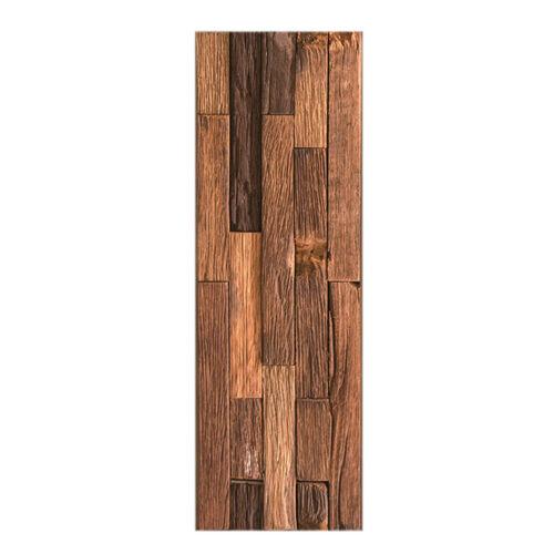 1Roll 3D Tile Floor Sticker PVC Waterproof Kitchen Bathroom Wall Decal HomeDecor