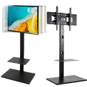 Rolling-TV-Stand-Mobile-TV-Cart-Swivel-for-32-65-inch-LED-LCD-OLED-Plasma-Screen