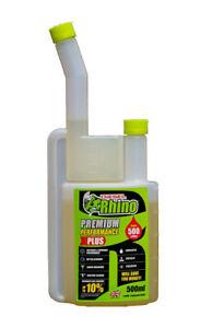 Diesel-Rhino-DR500-Premium-Performance-Plus-500ml-0-5L-Fuel-Additive-Treatment