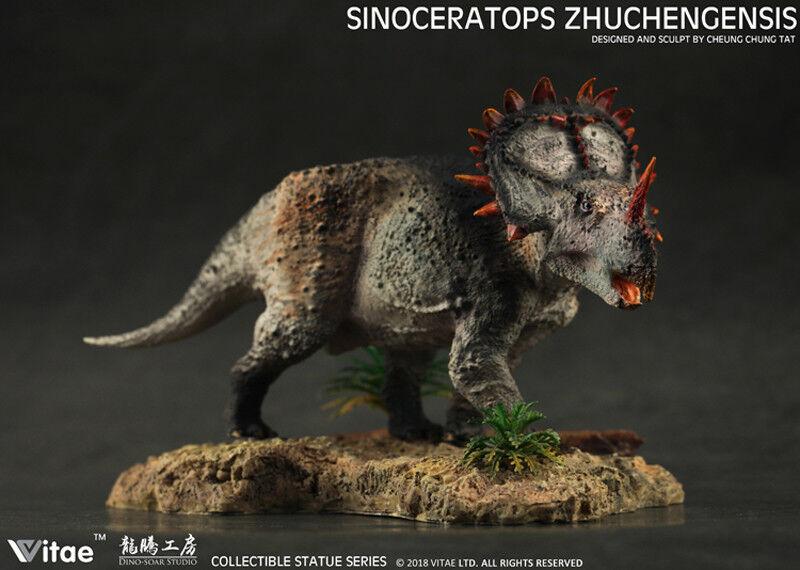 1/35 Figure Sinoceratops Zhuchengensis Dinosaurs Resin figure Model Vitae