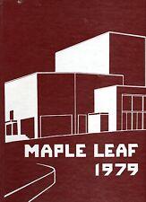1979 Goshen College (Indiana) Maple Leaf Yearbook