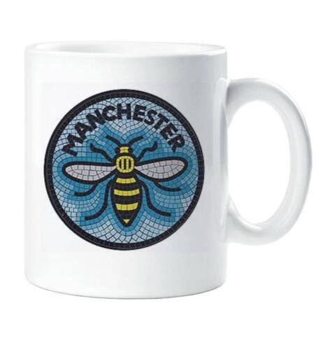 Manchester Bee Mug Mancunian Manchester Mug Cup
