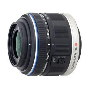 Near-Mint-Olympus-M-ZUIKO-14-42mm-f-3-5-5-6-II-Black-1-year-warranty
