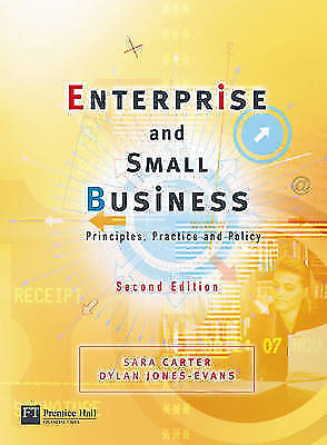 1 of 1 - Enterprise and Small Business: Principles, Practice and Policy by Sara...