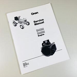 case 446 compact garden tractor onan b43m 16hp engine service repair rh ebay com Case 446 Loader Case 446 Loader