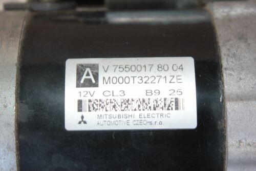Citroen Peugeot Mini Anlasser Starter V 755001780 04 M000T32271ZE 12V 89Tkm