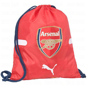 cf23bc8449f1 Puma Arsenal FC 2014-2015 Soccer Shoe Sack Gym Pack Fitness Bag ...