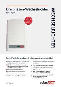 solaredge wechselrichter 8K EUR SetApp neu - BIELEFELD, Deutschland - solaredge wechselrichter 8K EUR SetApp neu - BIELEFELD, Deutschland