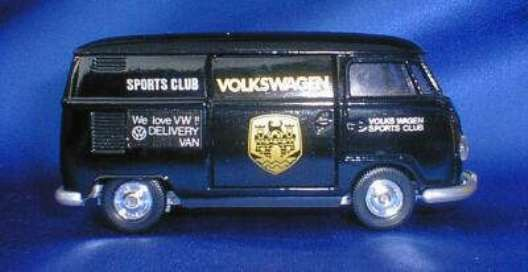 RARE Tomica VW T1 FURGONE VOLKSWAGEN Sports Club 1:43 JAPAN MADE COME NUOVO IN SCATOLA