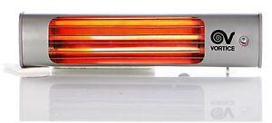 Vortice stufa elettrica infrarossi basso consumo parete for Stufa catalitica o infrarossi
