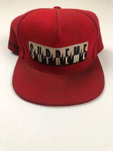 Supreme Predator Snapback Hat Red