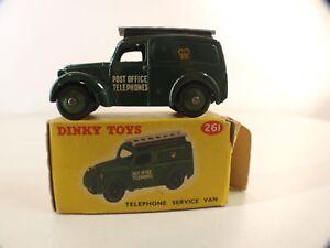 Dinky Toys Gb N° 261 Telephone Service Van Post Office En Boite