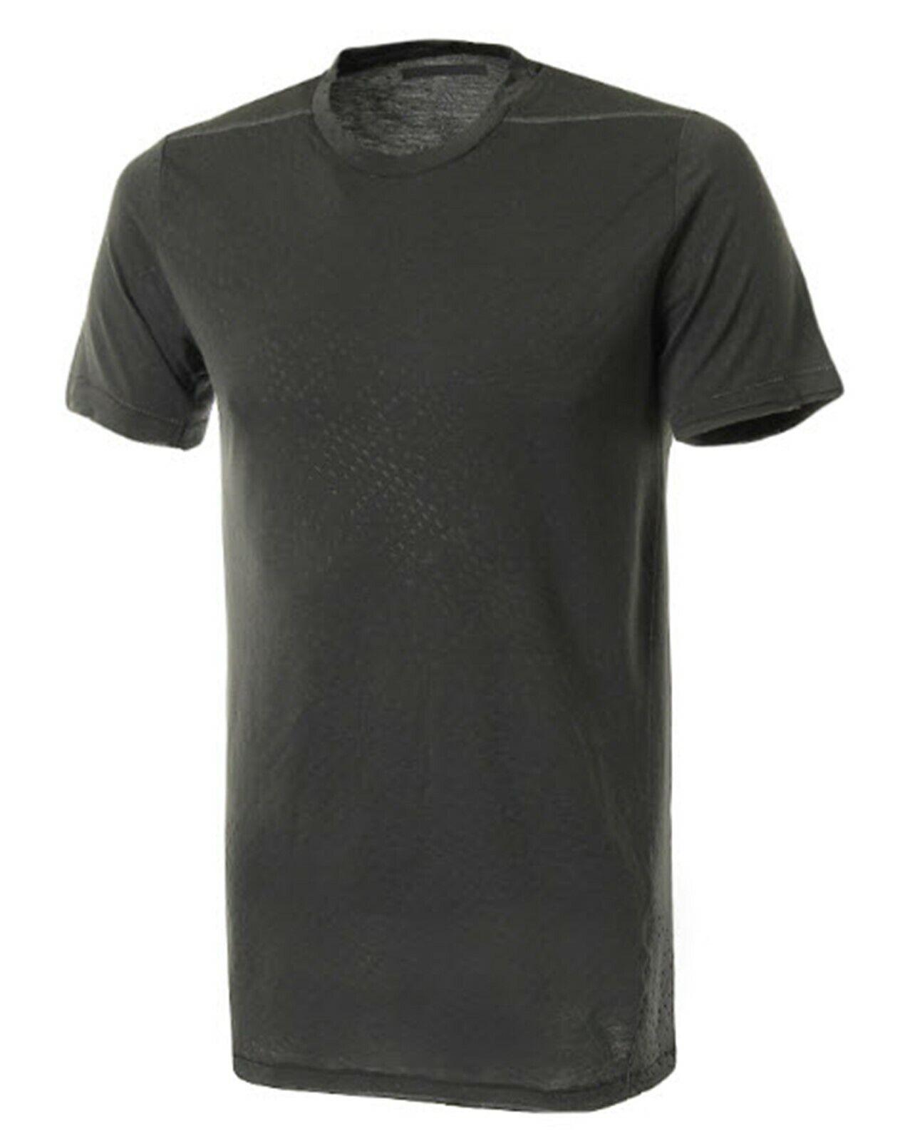 Adidas Men CHAOS Climalite Shirts Training Charcoal GYM Tee Shirt Jersey DQ2721