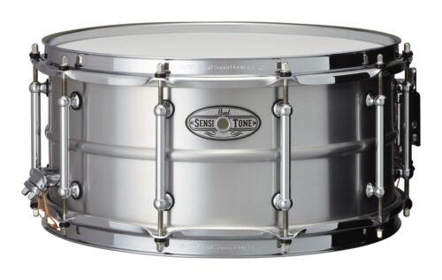 Pearl 14x6.5 Beaded Seamless Aluminum Sensitone Snare Drum Video Demo
