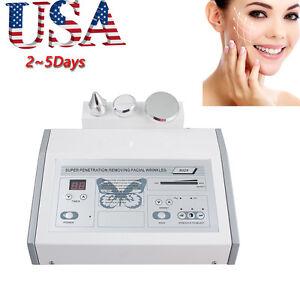 1mhz Ultrasonic Anti Aging Beauty Facial Body Skin Spa Salon