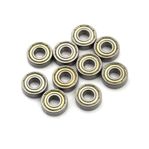 10PCS 696ZZ Deep Groove Miniature Ball Bearing 6X15X5mm Metal Mini Bearing EP