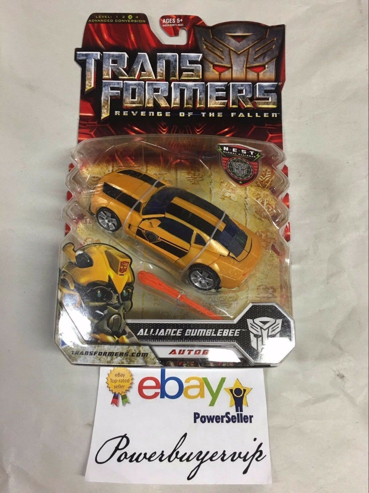 NEW Transformers Movie redF NEST Battle Autobot Deluxe Alliance Bumblebee Figure