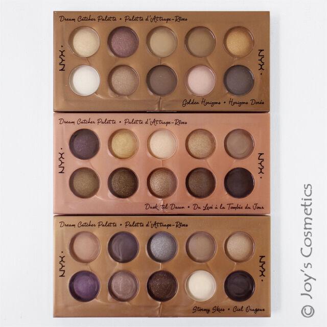 "1 NYX Dream Catcher Eyeshadow Palette Full Set - DCP ""01&02&03""*Joy's cosmetics*"