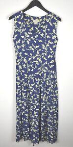 Euc Banana Republic Floral Maxi Dress With Pockets Size