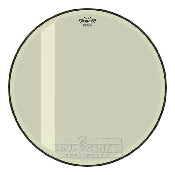 Remo Powerstroke P3 Felt Tone Hazy Bass Bass Bass Drumhead 20  - Video Demo 69bdb0
