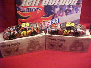 Racing-nascar Jeff Gordon 1:24 Diecast Car 2005 #24 Milestones 4x Indy 400 Winner Rare Ltd Ed