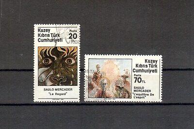 Zypern Türk.zypern Michelnummer 158-159 Gestempelt Briefmarken europa:5228