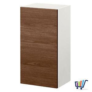 Detalles de Ikea Armario Pared con Puerta 40x31x75 cm Mueble de Cocina  Hanging Efecto Madera