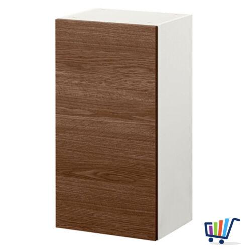 IKEA Wandschrank mit Tür 40x31x75 cm Küchenschrank Hängeschrank Holzeffekt grau