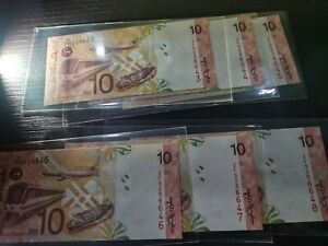 Zeti RM 10 ZF replacement 6 running number UNC minor foxing