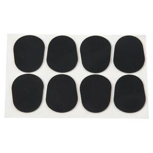 2X-8pcs-Alto-Tenor-Saxophone-Sax-Mouthpiece-Patches-Pads-Cushions-Black-0-8-R2
