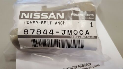 NEW OEM NISSAN 2008-2013 ROGUE SEAT BELT ANCHOR COVER