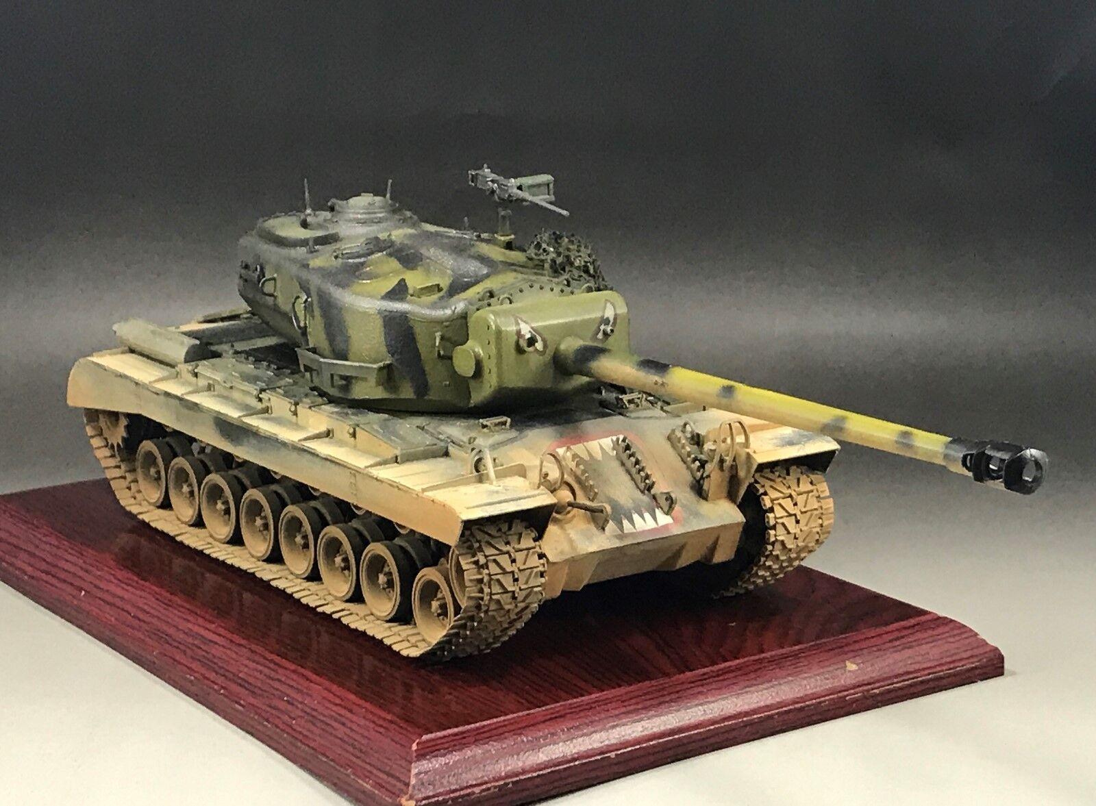 1/35 construido Hobbyboss 84510 modelo de tanque pesado T29E1 de EE. UU.