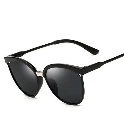 Women's Retro Mirrored Designer Fashion Sunglasses Flat Lens Eye Glasses Eyewear