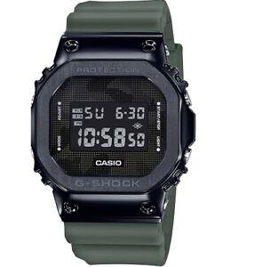 New-Casio-G-Shock-Black-PVD-Steel-Resin-Strap-Watch-GM5600B-3