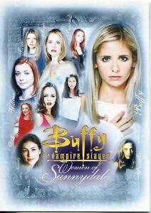 Buffy TVS Memories Promo Card B-UK