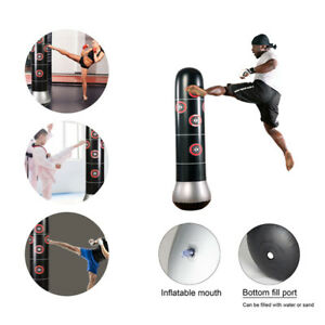 Standboxsack-Boxpuppe-Boxdummy-Boxtraining-150-160cm-Aufblasbar-Boxsack