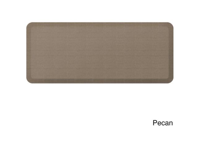 Gel Pro Anti Fatigue 20 X 48in Grasscloth Kitchen Comfort Floor Mat Rug Pecan