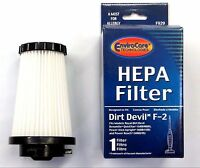 3 DIRT DEVIL F2 HEPA FILTERS Vacuum Cleaner Accessories