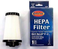 3 DIRT DEVIL F2 HEPA FILTERS Vacuum Cleaner Accessories