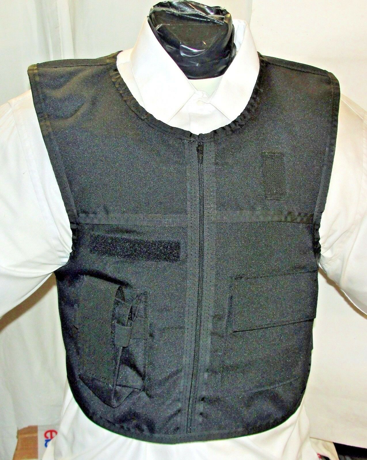 New Med Patrol Duty Vest Plate Carrier IIIA Body Armor BulletProof with Inserts