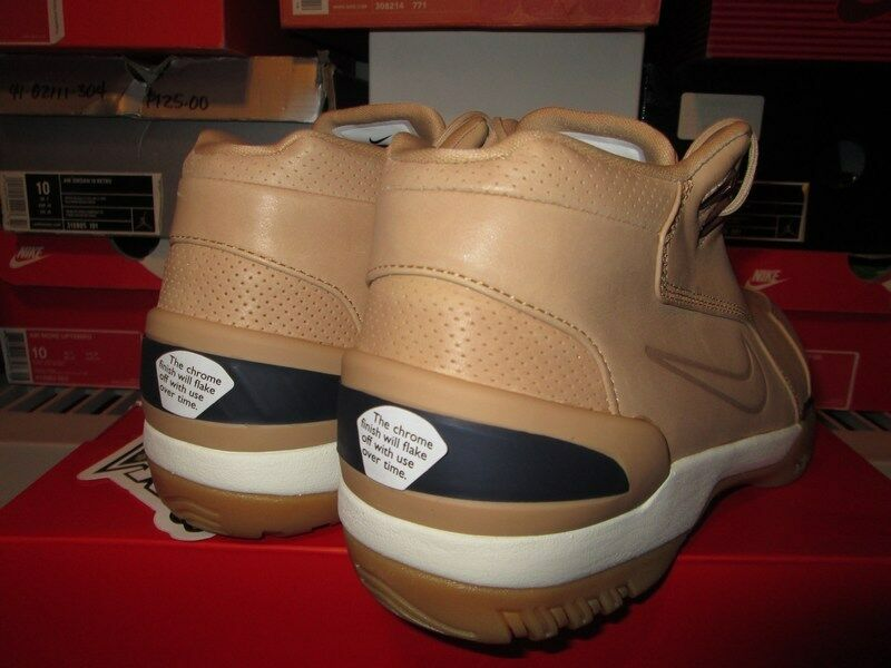 nike air lebron zoom generation alle star lebron air vachetta tan 308214 200 kaugummi 937f19