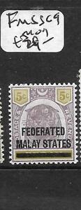 MALAYA FMS (P3012B) TIGER 5C SG 9 MOG