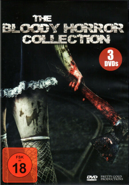 Bloody Horror Collection , 3 DVDs , uncut , Vindictive Whore , 9th Unit , Neu